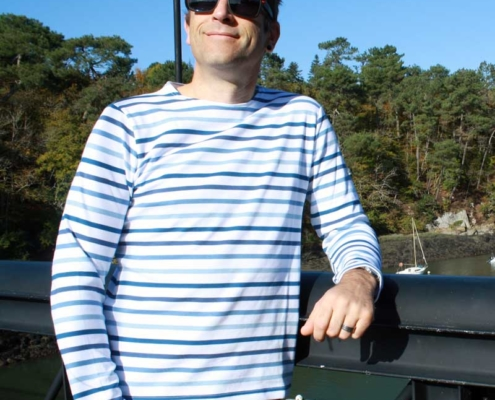 Marinière adulte mixte multi bleu