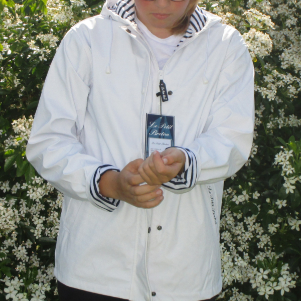 Parka Le Petit Breton Adulte Blanc